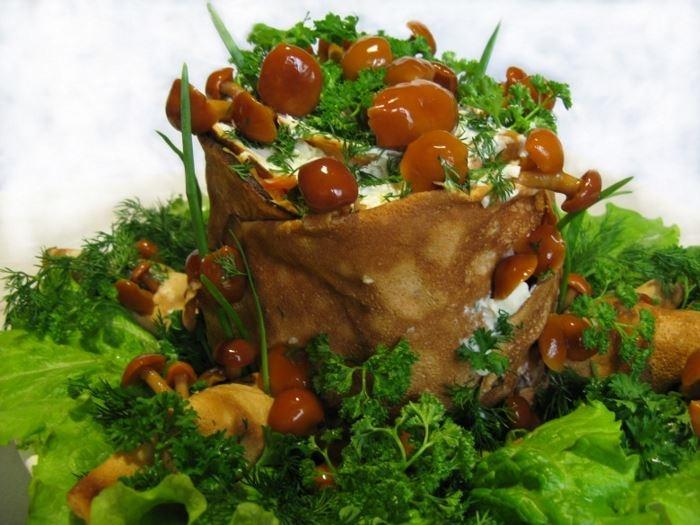 Пошаговое приготовление блюд с грибов