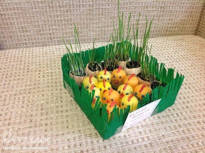 Поделки на тему весна в детский сад