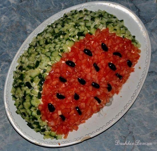 Рецепты салатов новых