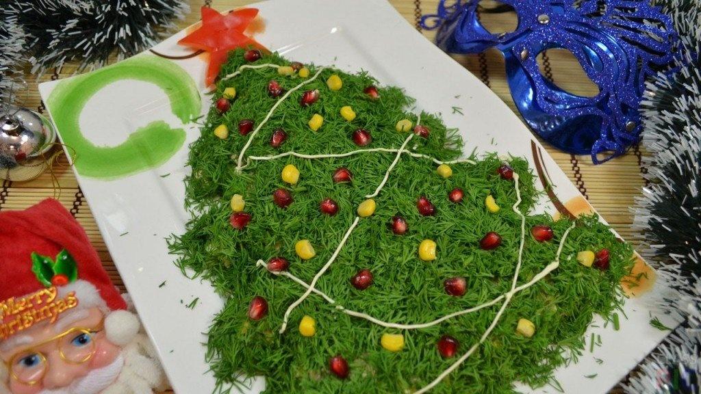 Новогодние рецепты салатов с пошаговыми