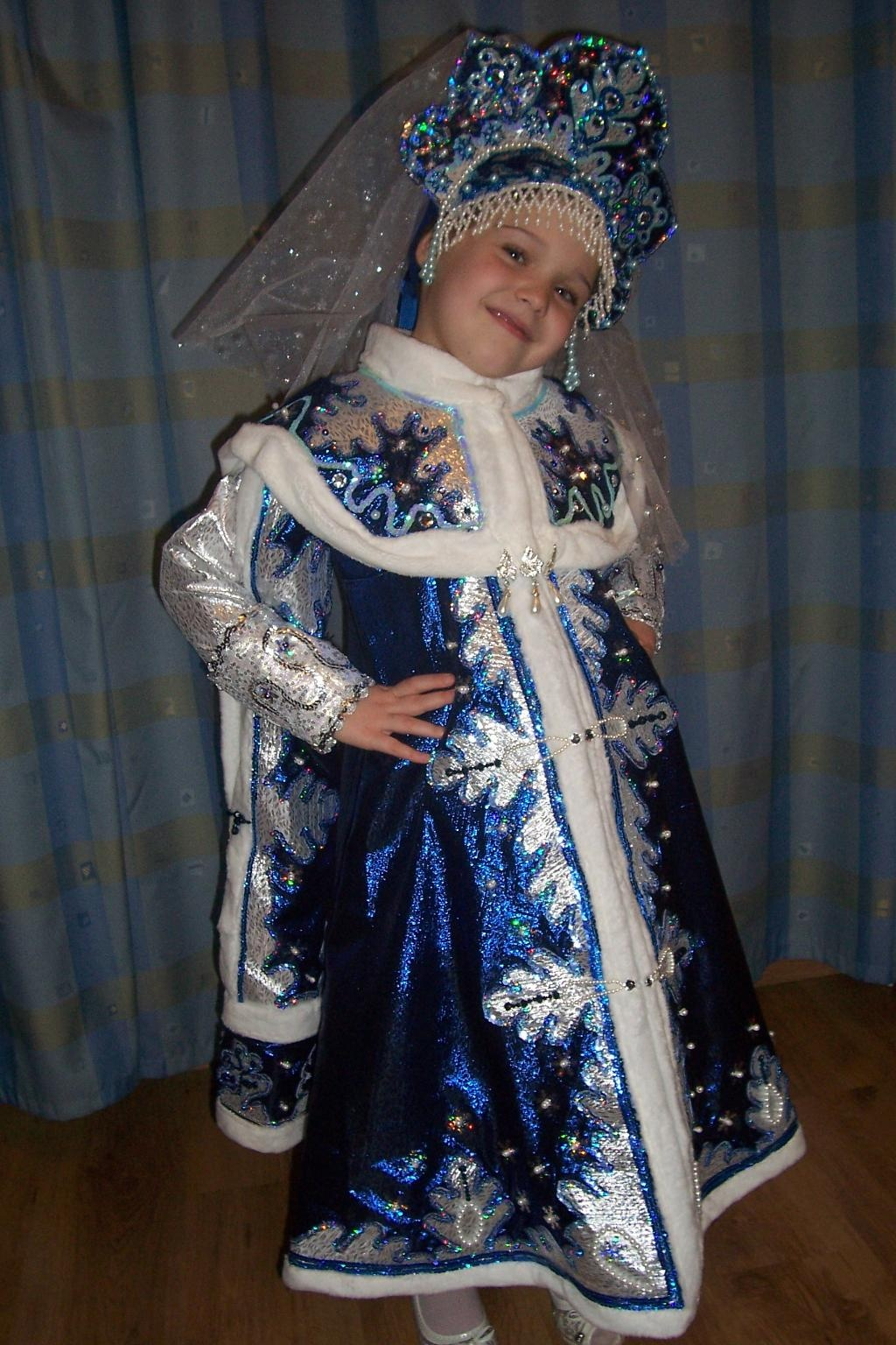 Фото костюм снегурочки своими руками