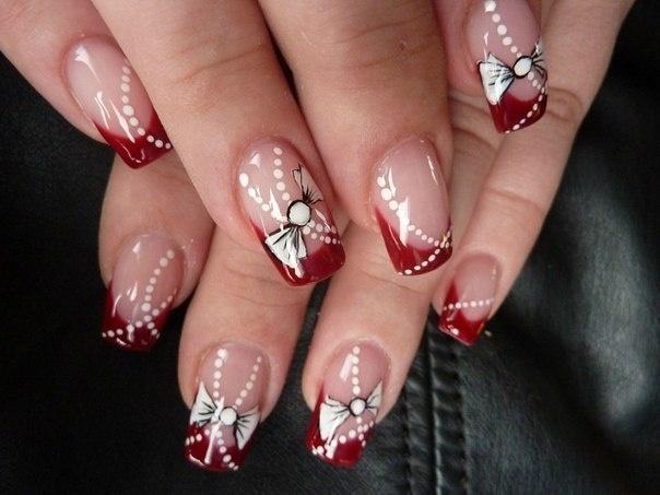 Фото дизайна ногтей к новому году 2017