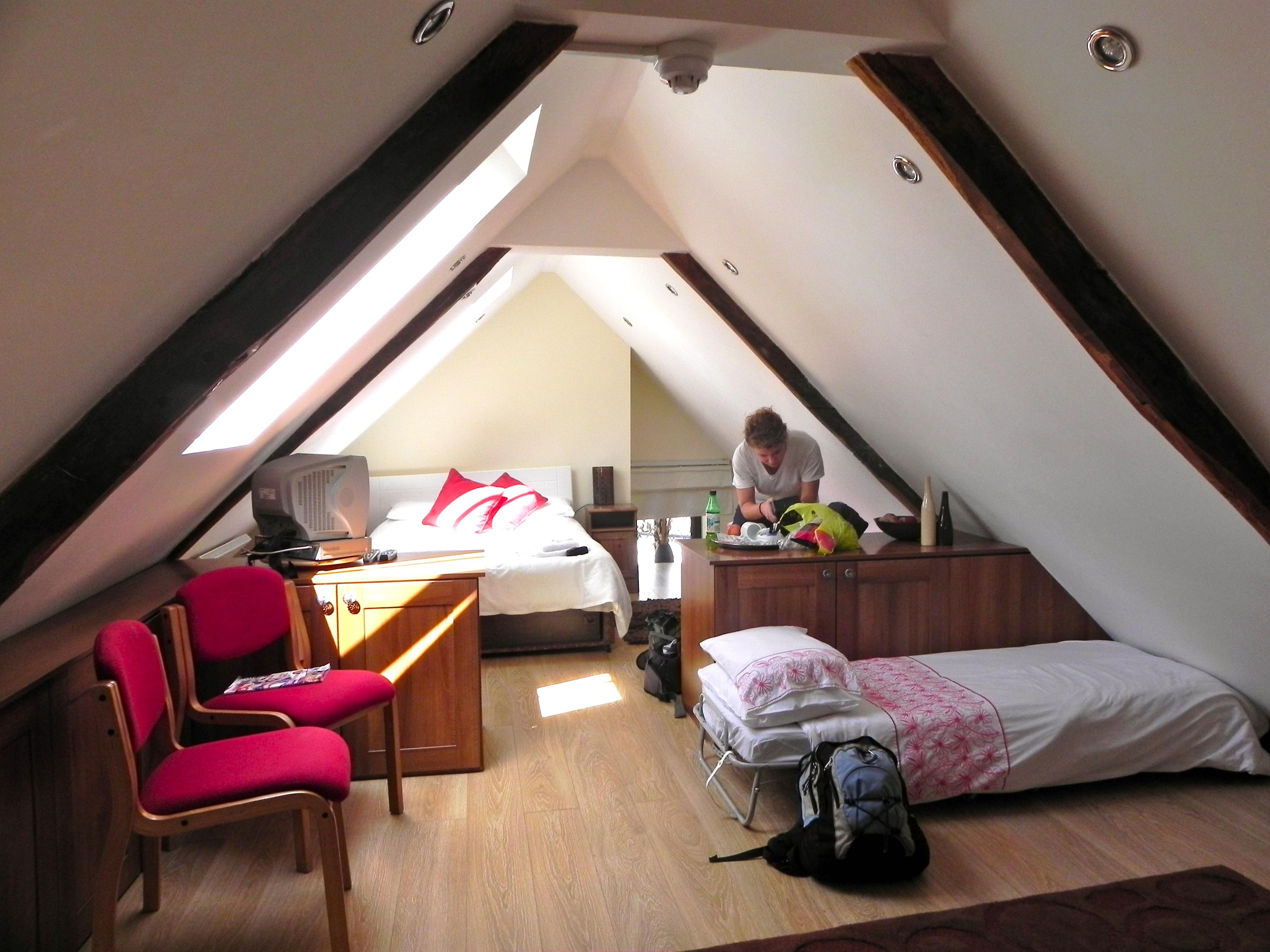 Гостевая спальня в мансарде - карточка от пользователя gridyaeva.o в Яндекс.Коллекциях