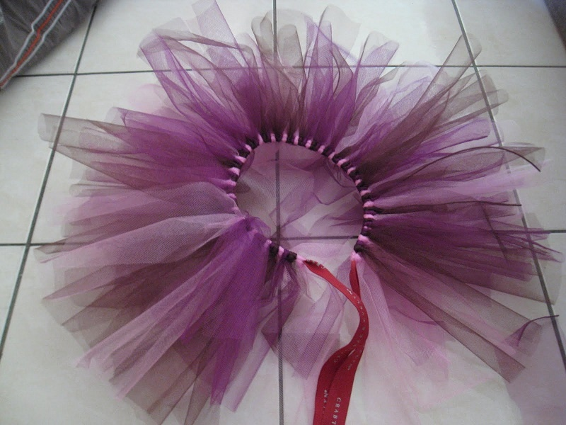 Как сделать цветок на юбку