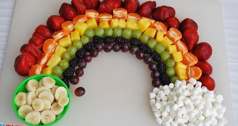 Салаты рецепты с для детей с фруктами