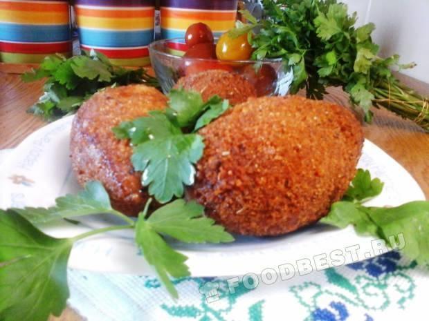 Котлета по киевски с из свинины пошаговый рецепт