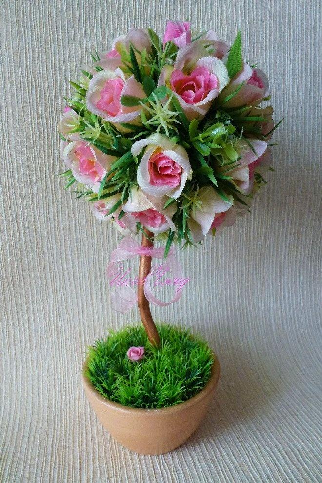 Искусственные цветы своими руками фото