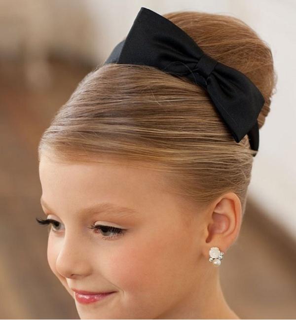 Прическа детская на длинные волосы