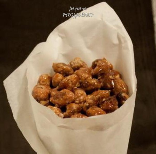 Рецепт сахар с орехами
