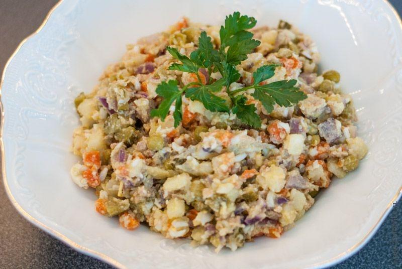 Салат из печени трески рецепт с очень вкусный простой рецепт