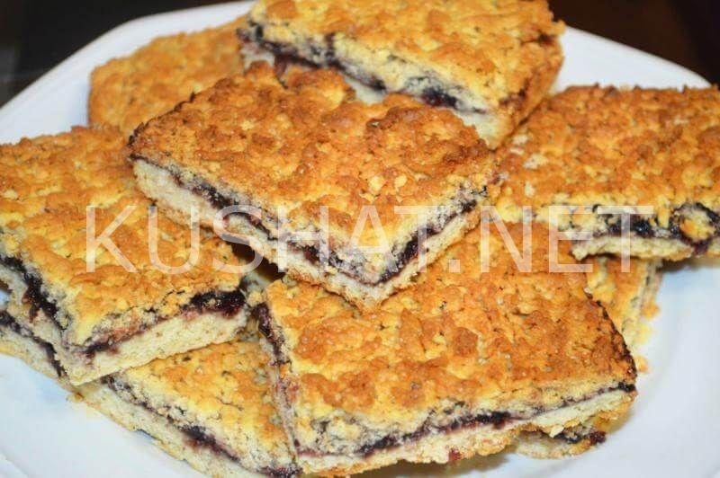 Рецепт тертого пирога с пошагово