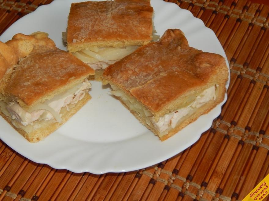 Вкусный курник пошаговый рецепт с фото