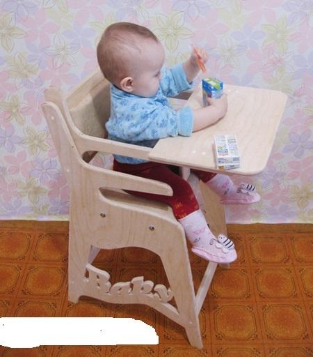 Детские стульчики для кормления своими руками фото
