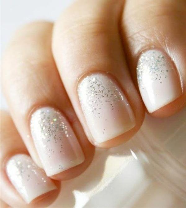Свадебный маникюр фото для невесты на короткие ногти своими руками