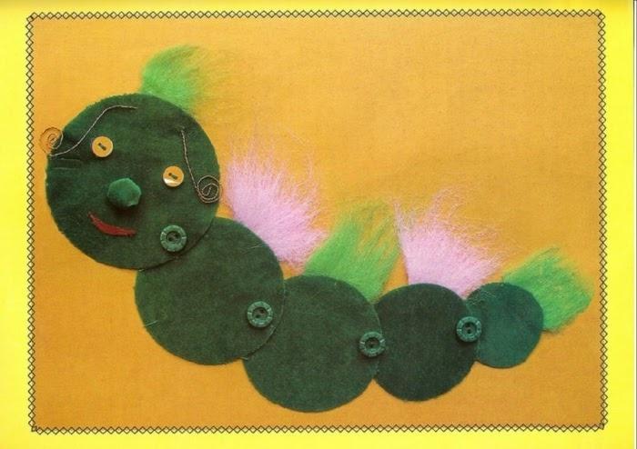 Фото поделки из ткани 1 класс