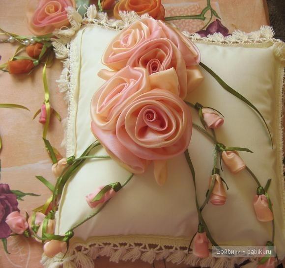 Букет цветов из ткани мастер класс
