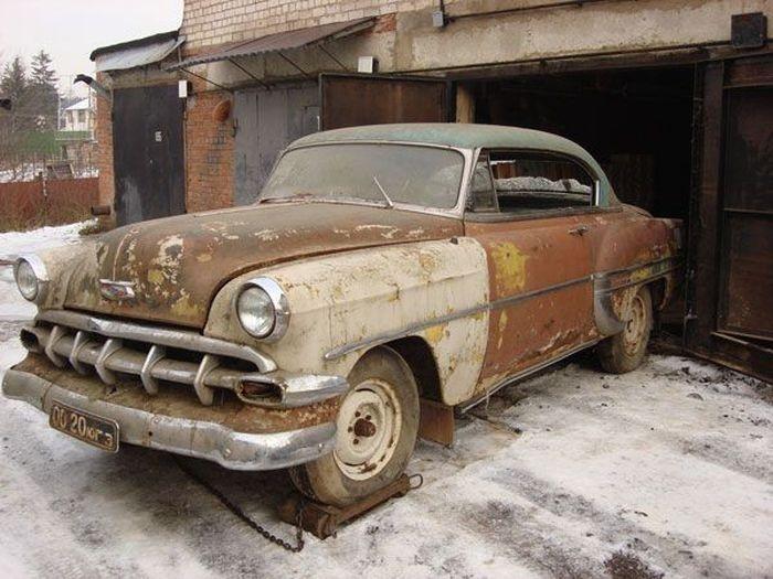 Восстановление старых машин