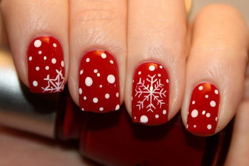Шеллак зимний на короткие ногти