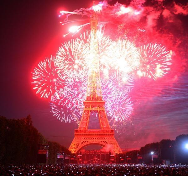 Новый год во франции украина