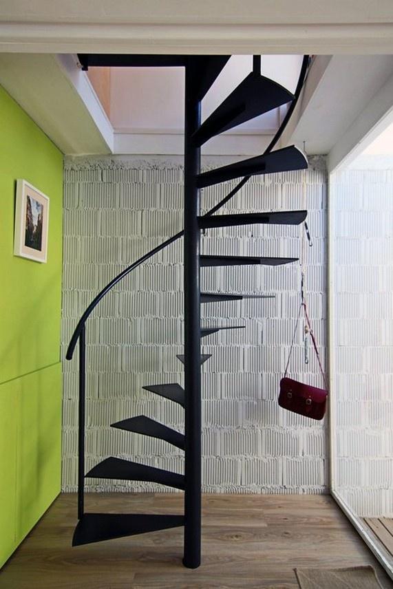 Простейшие винтовые лестницы своими руками