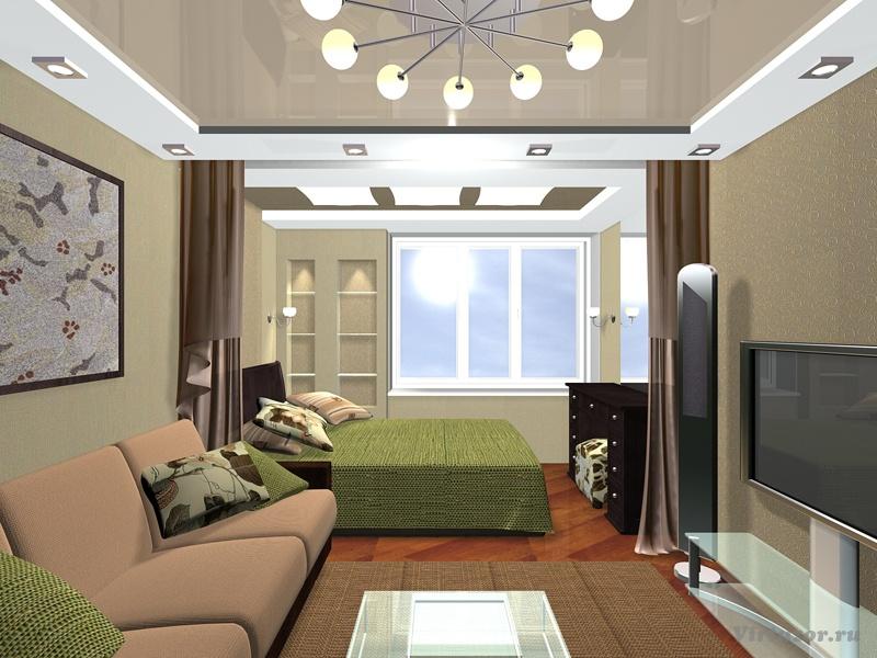 Дизайн комнат 16 кв м