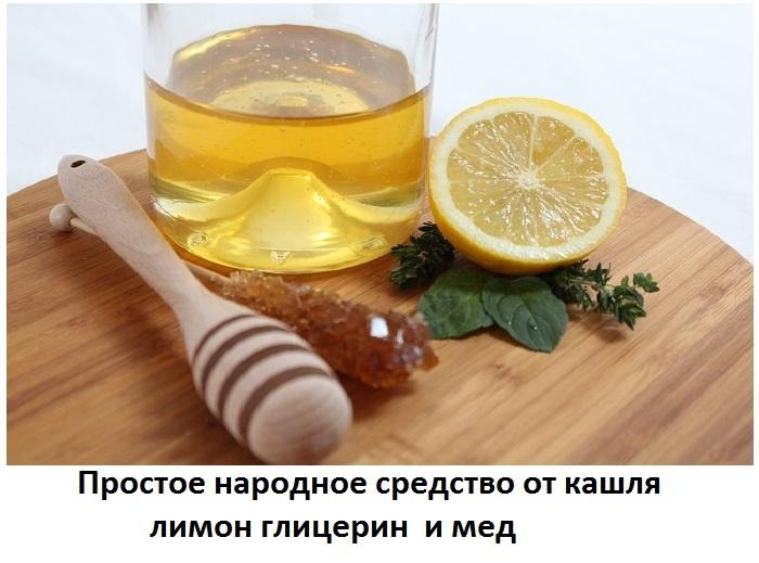 Рецепты от кашля с лимоном и