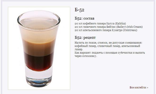 Напитки крепкие рецепт с