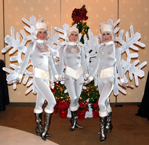 Как сделать новогодний костюм снежинка