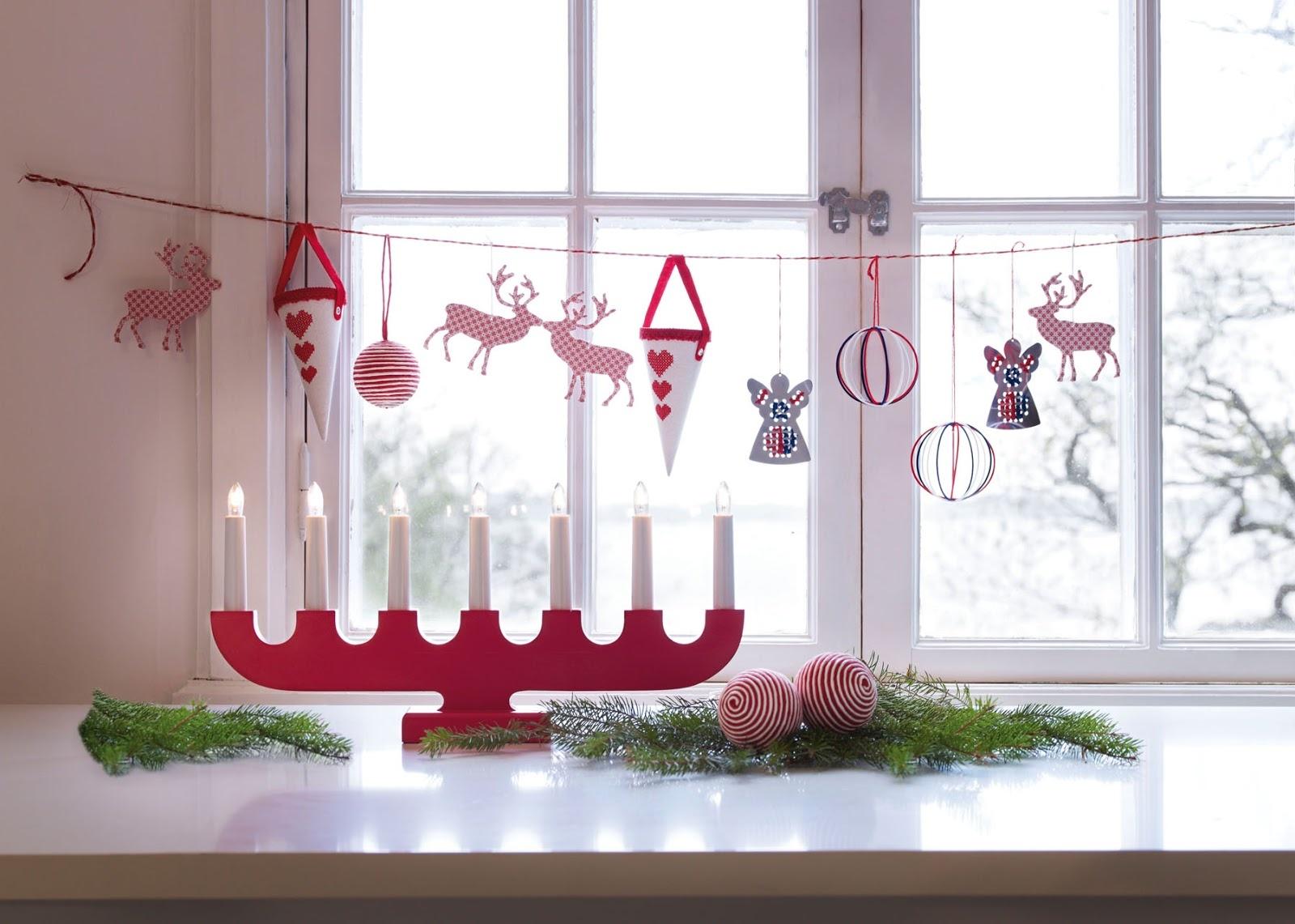 Новогодняя гирлянда на окна своими руками