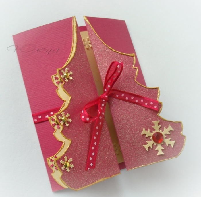 Оригинальные открытки своими руками новому году