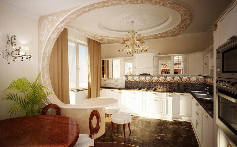 Арки для кухни дизайн