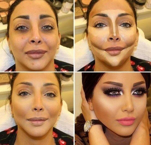 Как сделать макияж лица правильно