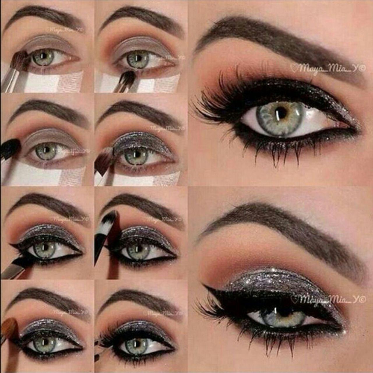 Лёгкий макияж глаз в домашних условиях