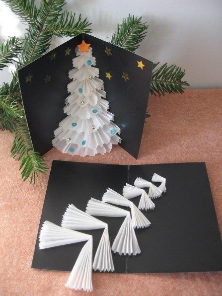 Новогодняя поделка своими руками мастер класс из бумаги
