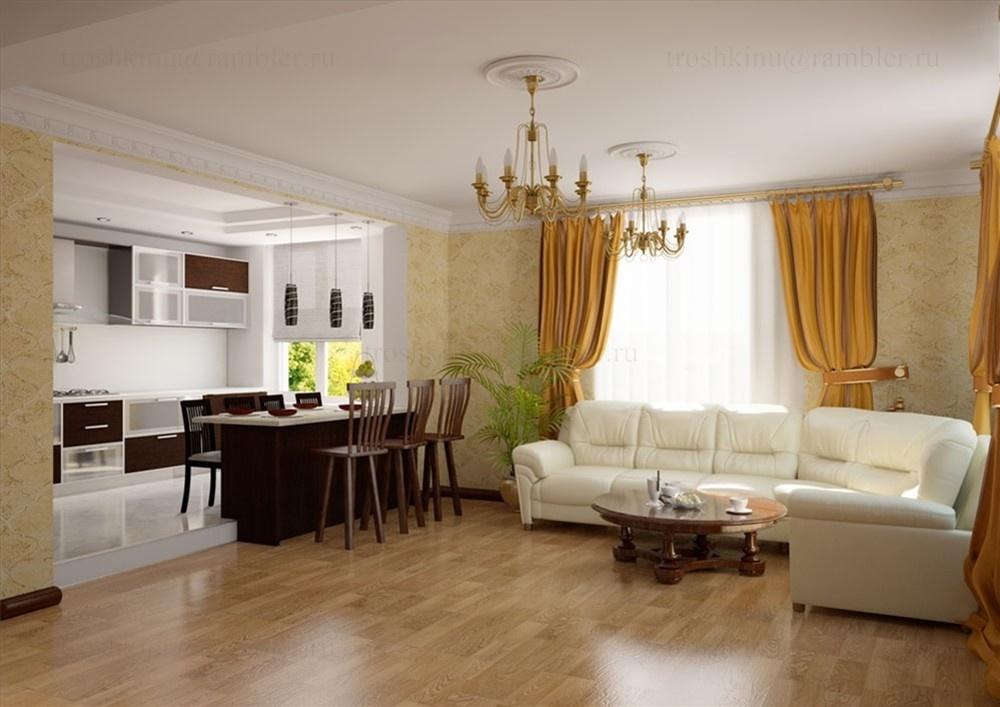 Дизайн гостиной с кухней 25 кв м дизайн