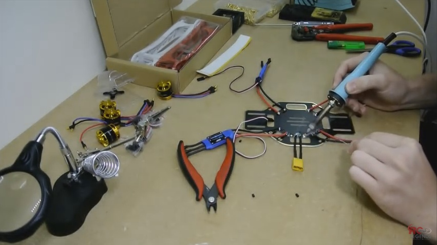 Изготовление дрона своими руками