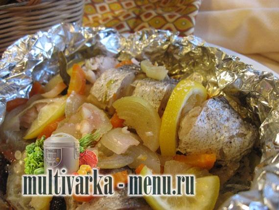 Рыба с овощами в фольге в мультиварке рецепты с фото