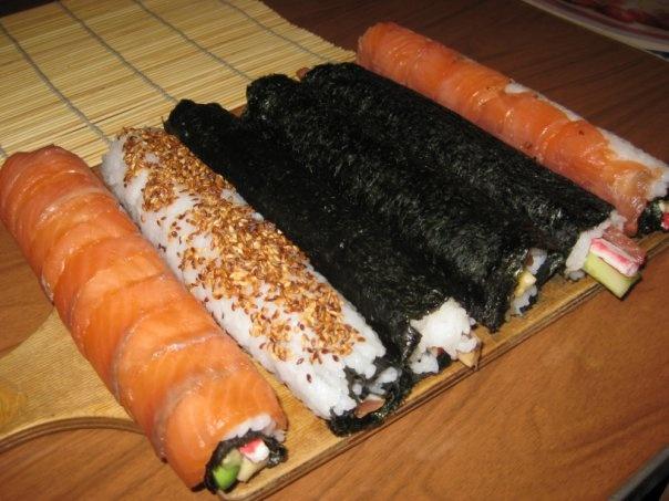 Суши рецепты своими руками