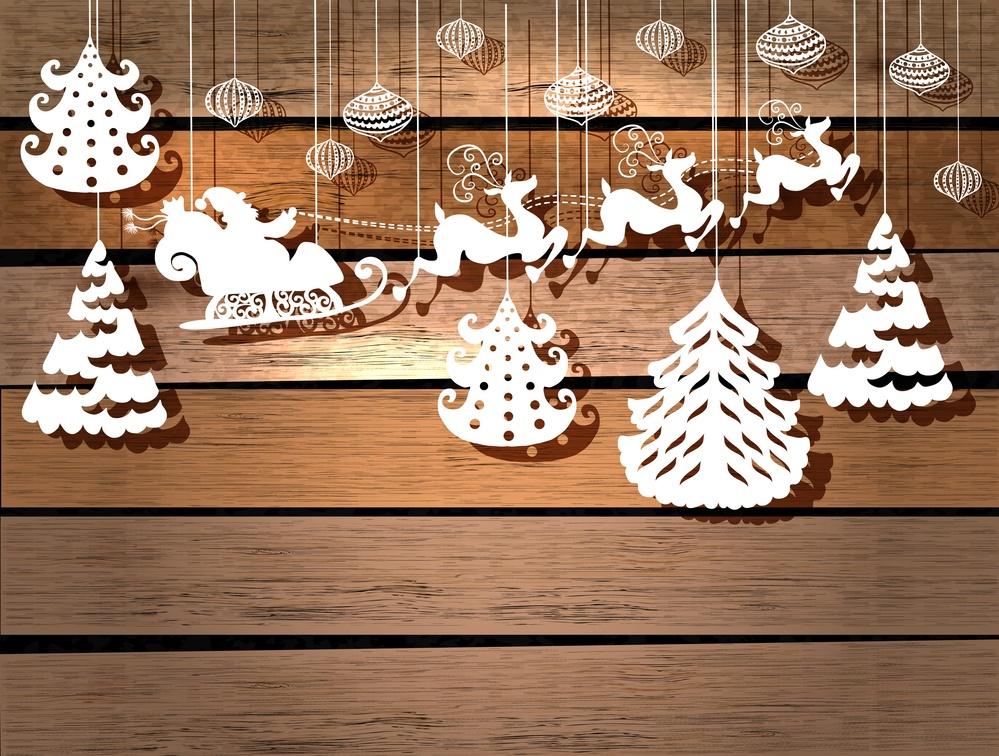 Новогодний декора своими руками шаблоны