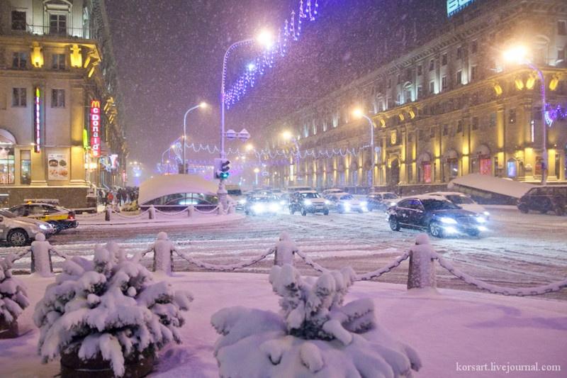 Минск в новый год что посмотреть