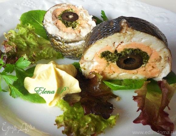 Фаршированная рыба пошаговым