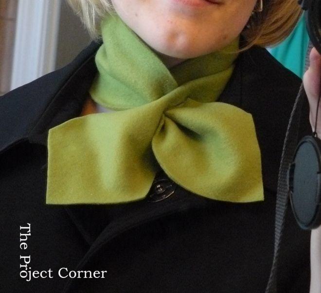 Сшить шарф из трикотажа