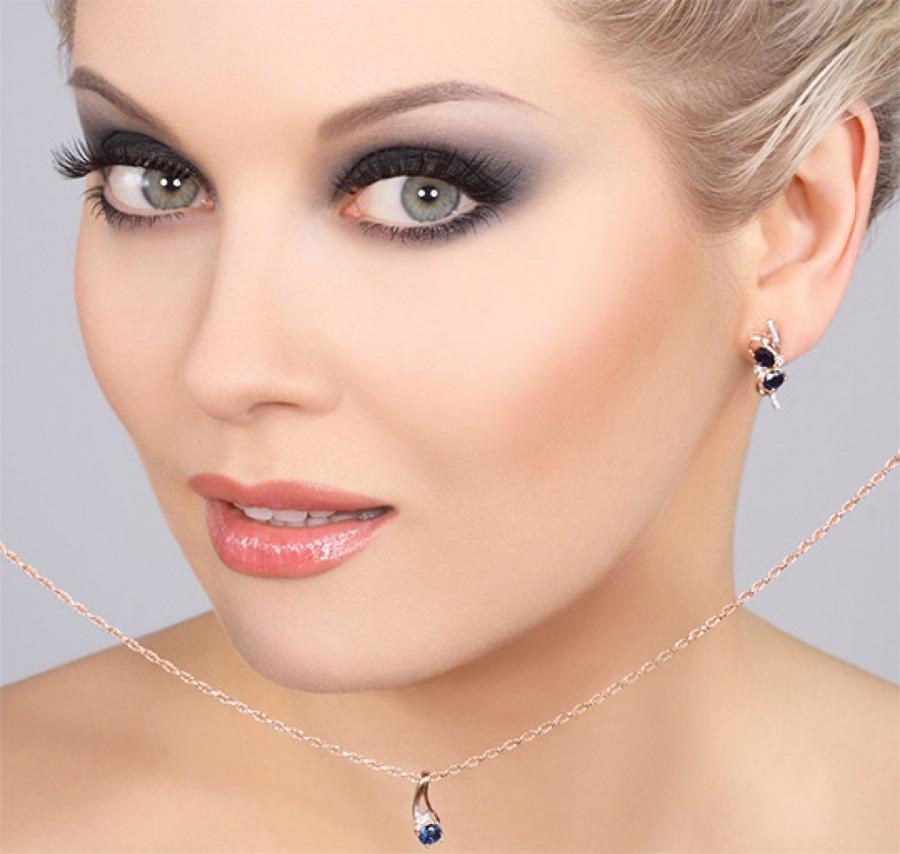 Фото макияж для русоволосых