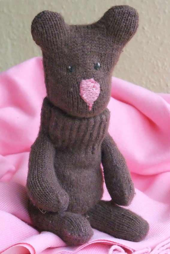 Медвежонок своими руками из носка