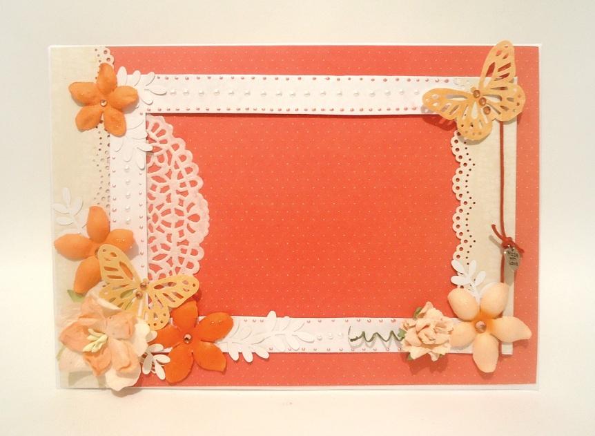 Рамочки для фото из картона своими руками