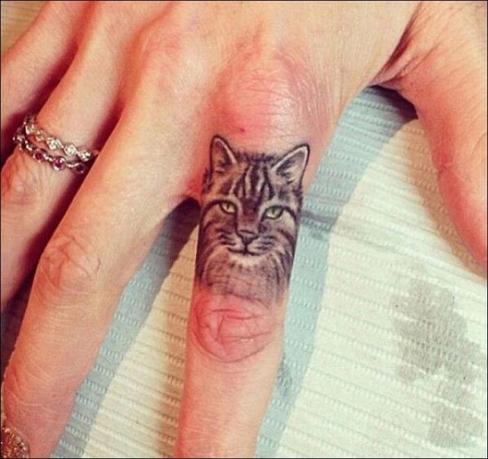 Кот манул тату значение