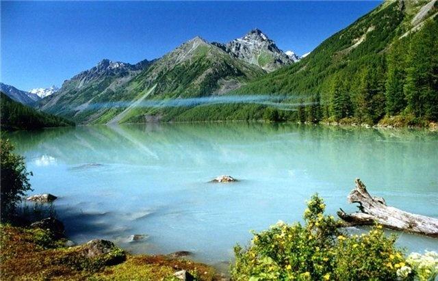 Большинство соленых алтайский озер расположено на северо-западе края