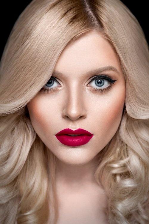 Макияжи для блондинок в картинках