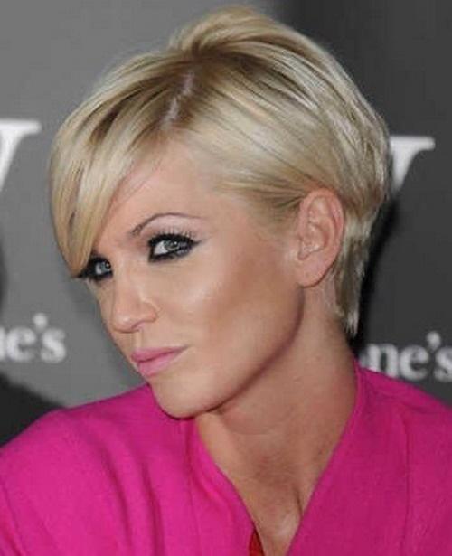 Блондинки стрижки на короткий волос