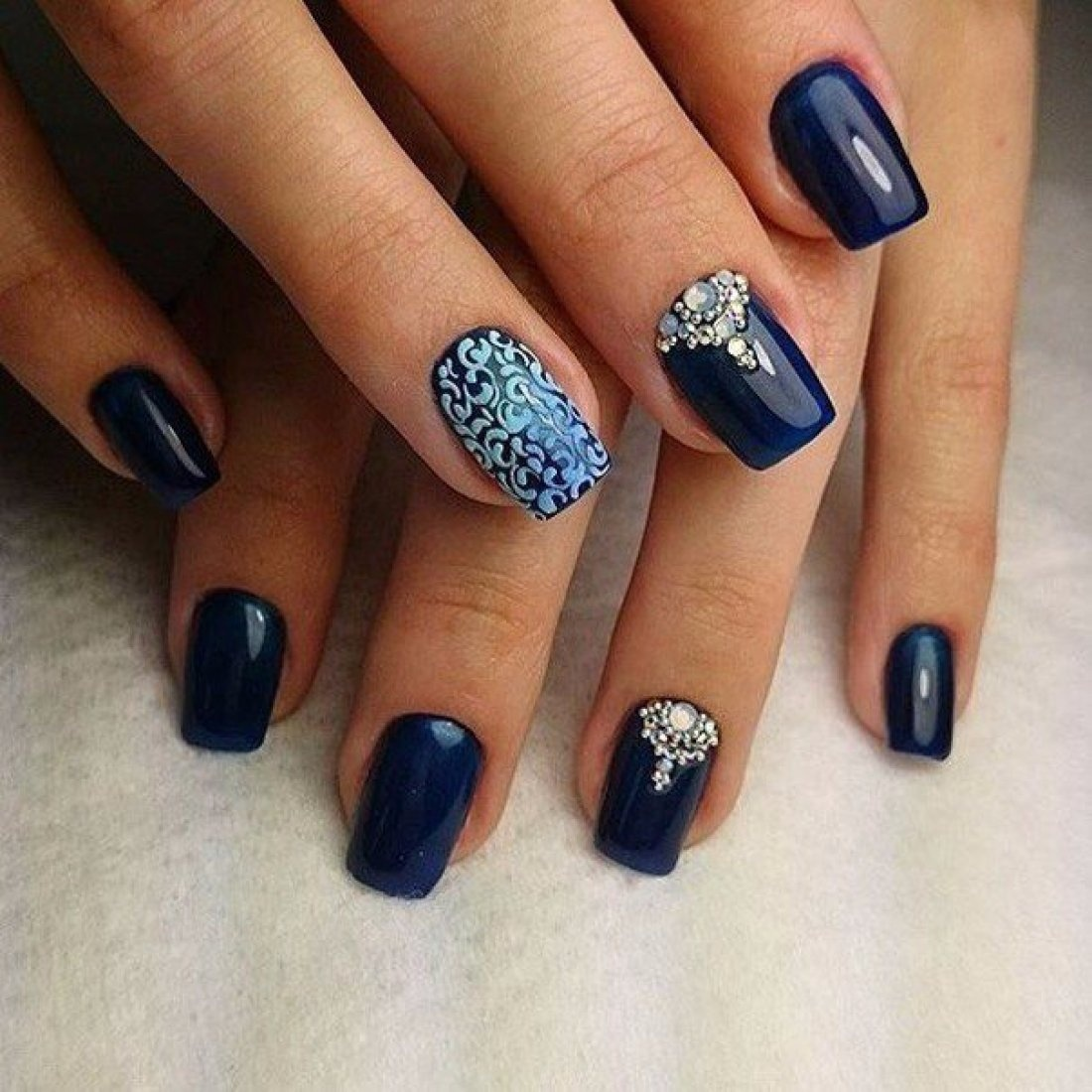 Необычные дизайны ногтей шеллак